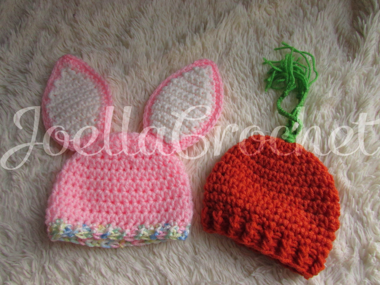 4095bac2888 Newborn Bunny Hat